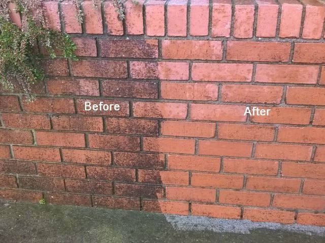 Brick & Stone Cleaning